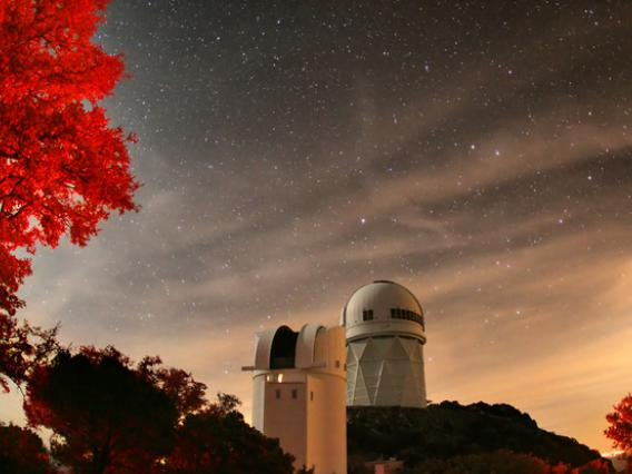 Night Sky at Kitt Peak Observatory